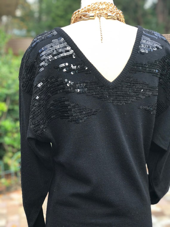 FREE US SHIPPING!/sweater dress/vintage sweater d… - image 5