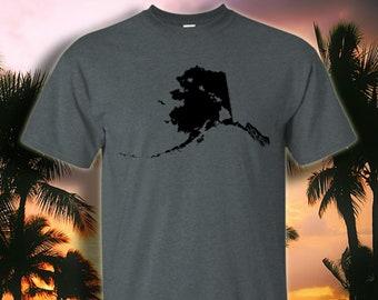 3a958845 Alaska and Hawai'i Roots Hawaiian T-Shirt by Hawaii Nei All Day