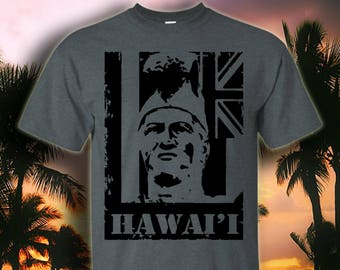 Hawai'i King Kamehameha T-Shirt by Hawaii Nei All Day