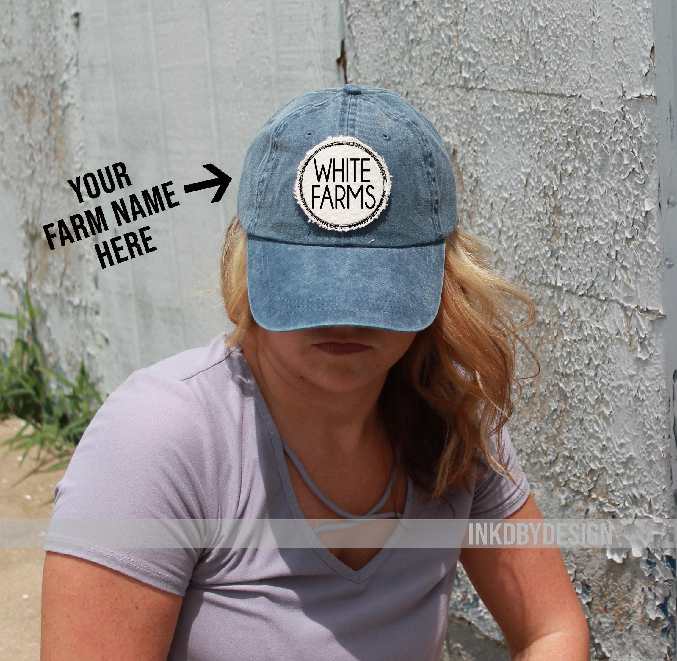 98b0ffc7fea Personalized Farm Hat Cow Goat Sheap Pig Custom Farm