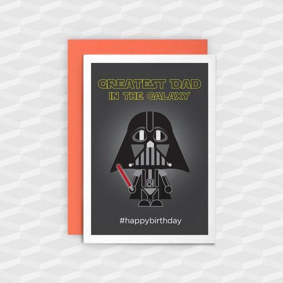 Dad Birthday CardsStar Wars CardsGreatest In