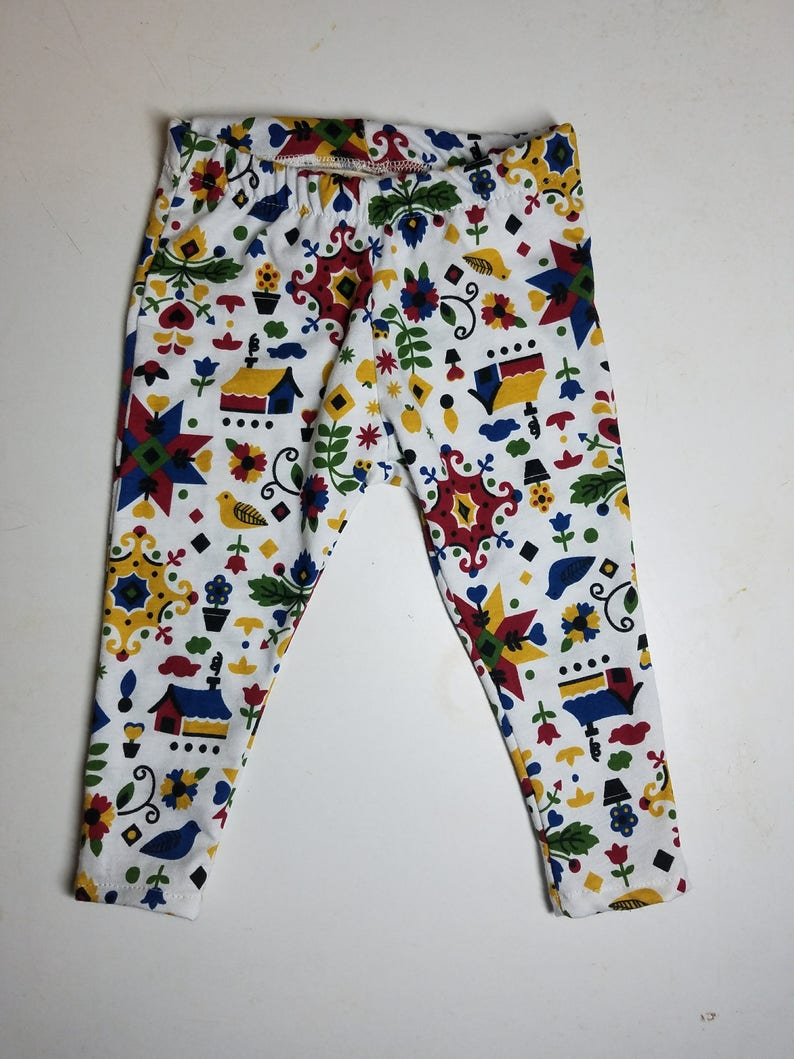 Baby leggings custom order image 0
