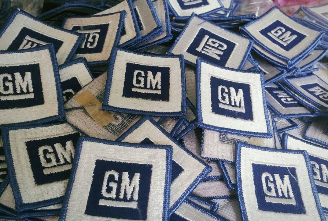 Free Us Shipping Lot Of 10 Vintage 1970s Gm Patch General Motors