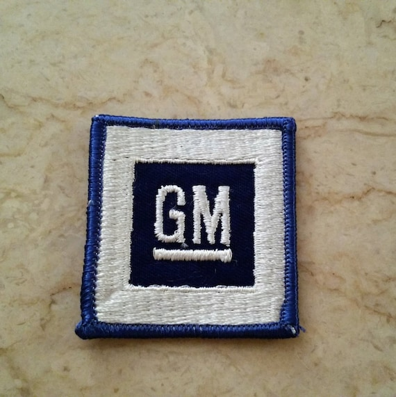 Free Us Shipping 1970s Vintage Gm Patch General Motors Patch Etsy