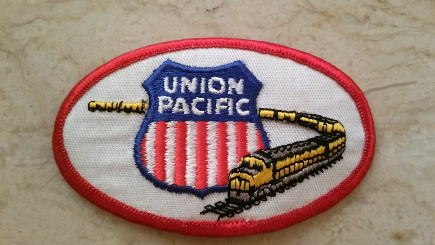 Free Us Shipping 1970s Vintage Union Pacific Railroad Patch