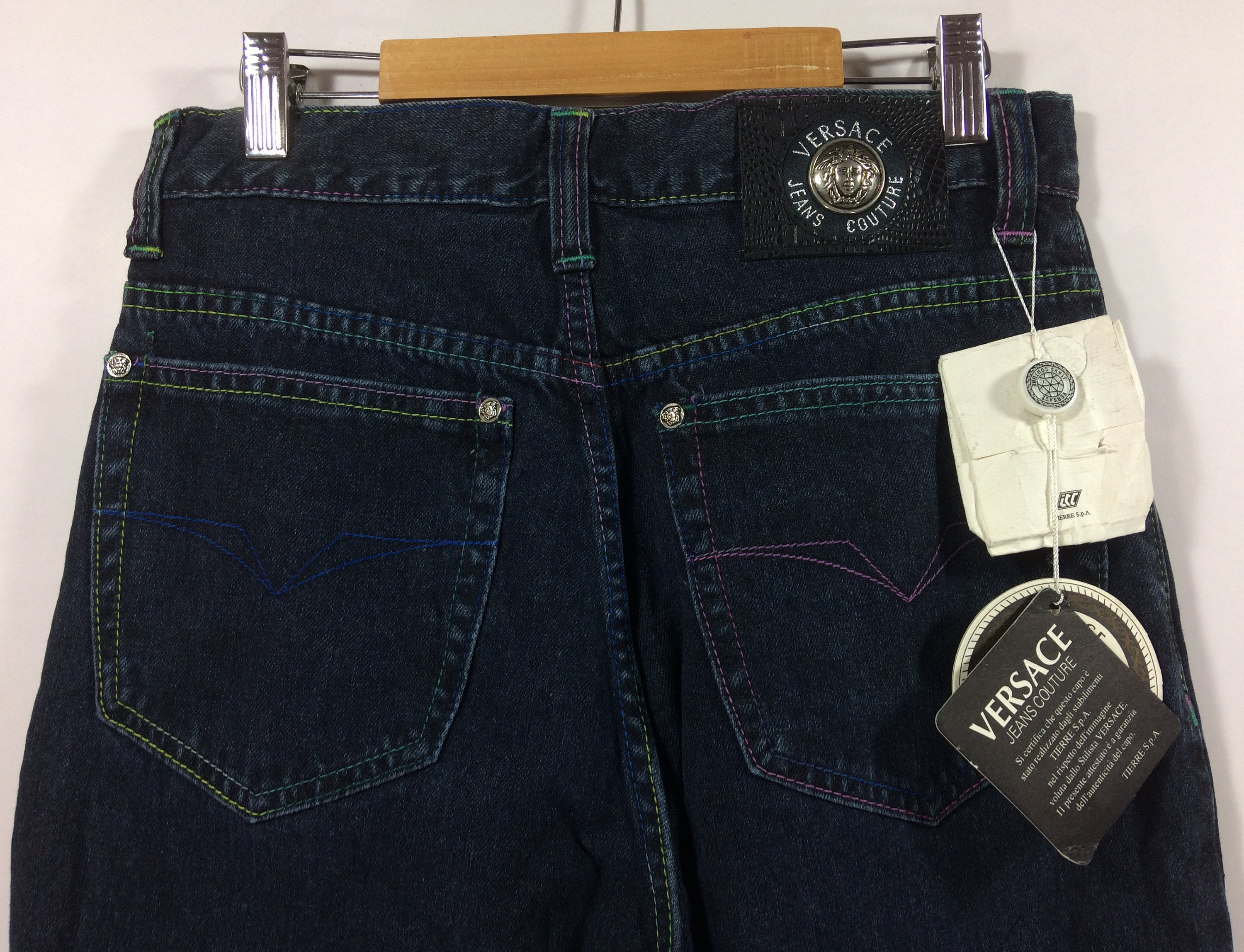 Vintage versace jeans couture with tag pants jeans high etsy jpg 3000x2296  Versace clothing tag 40dc07c30fbb2