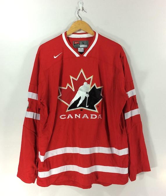 Vintage Team Canada Hockey Jersey Nike Ice Hockey