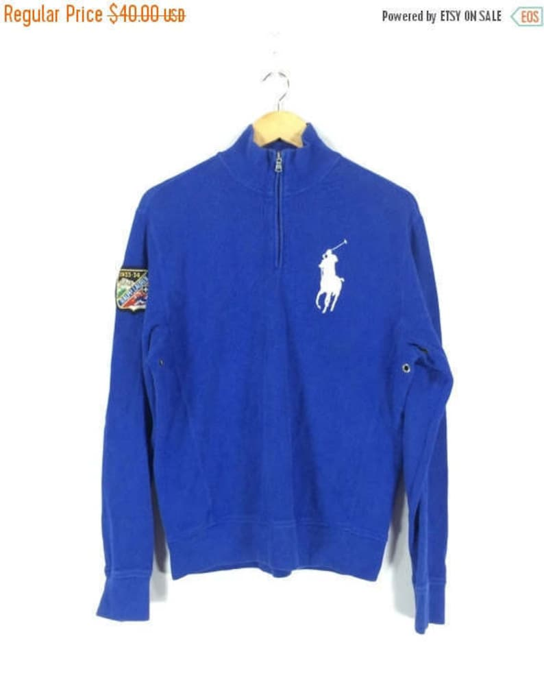e12213b6ba5dc On sale 15% Vintage Ralph Lauren 1933-34 Ski Polo Pullover Sweater Size S  Street... On sale 15% Vintage Ralph Lauren 1933-34 Ski Polo Pullover Sweater  Size ...