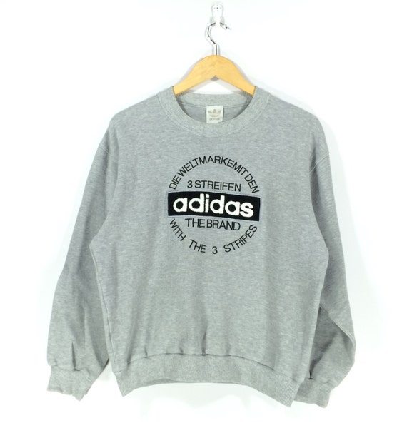 Vintage Adidas Run Dmc Street Wear Streetwear 90s 80s Hip Hop Style Rare Sweatshirt