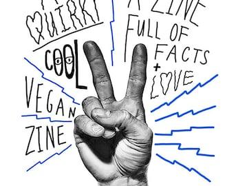 Pack of Vegan Zines - V for Vegan