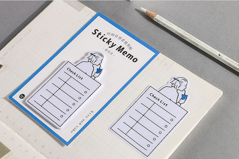 Reminder Notes ChecklistTo Do Planner Notepads Memo Pads Memo Pad Stickers