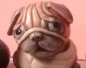 Puggy etsy puggy the pug harmony ball potbelly animal collectible altavistaventures Images