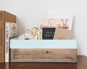 Paint Dipped Wooden Planter Box