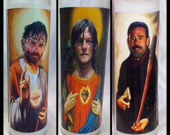 Ultra Walking Dead Saint Darryl //Saint Rick // Saint Negan Set