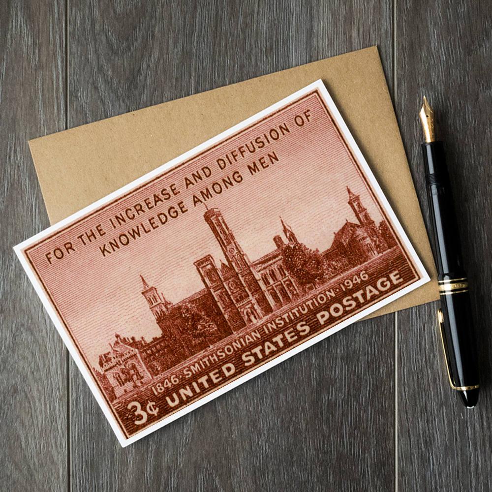 smithsonian museum cards smithsonian institution birthday | Etsy