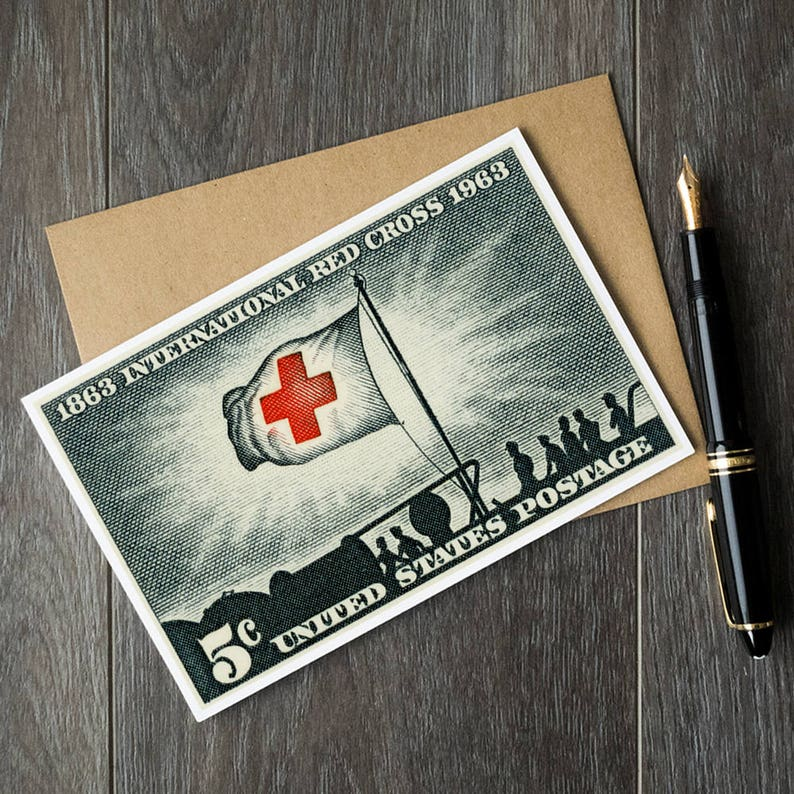 International Red Cross Cards Art