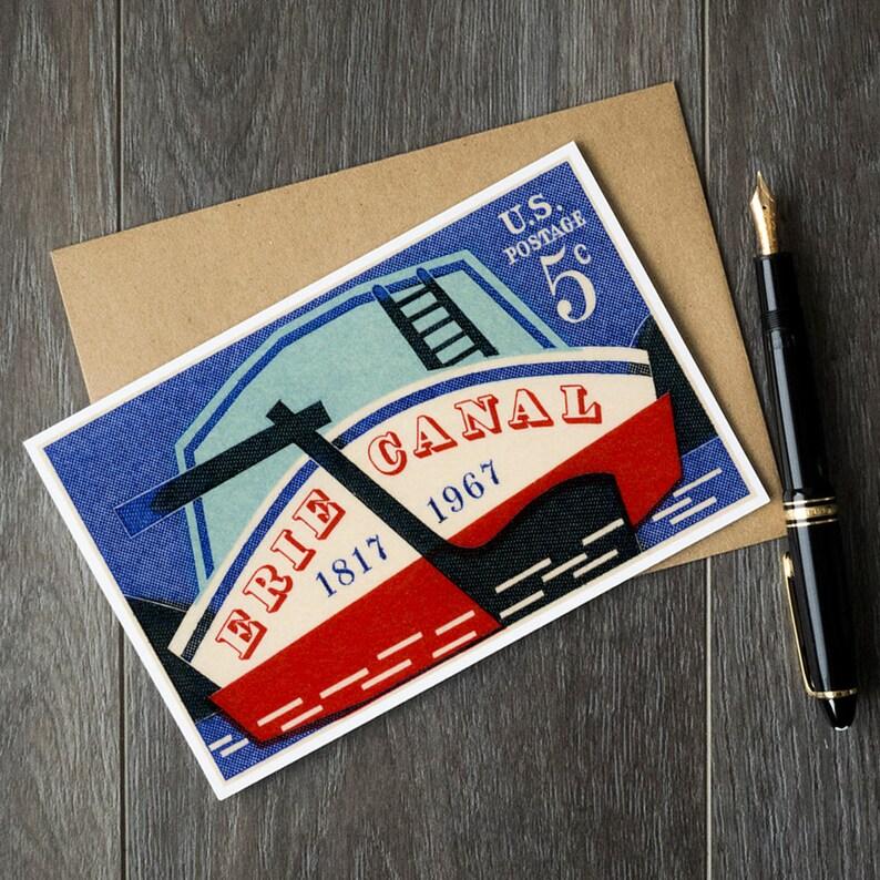 Lake Erie Greeting Card New York Gift City