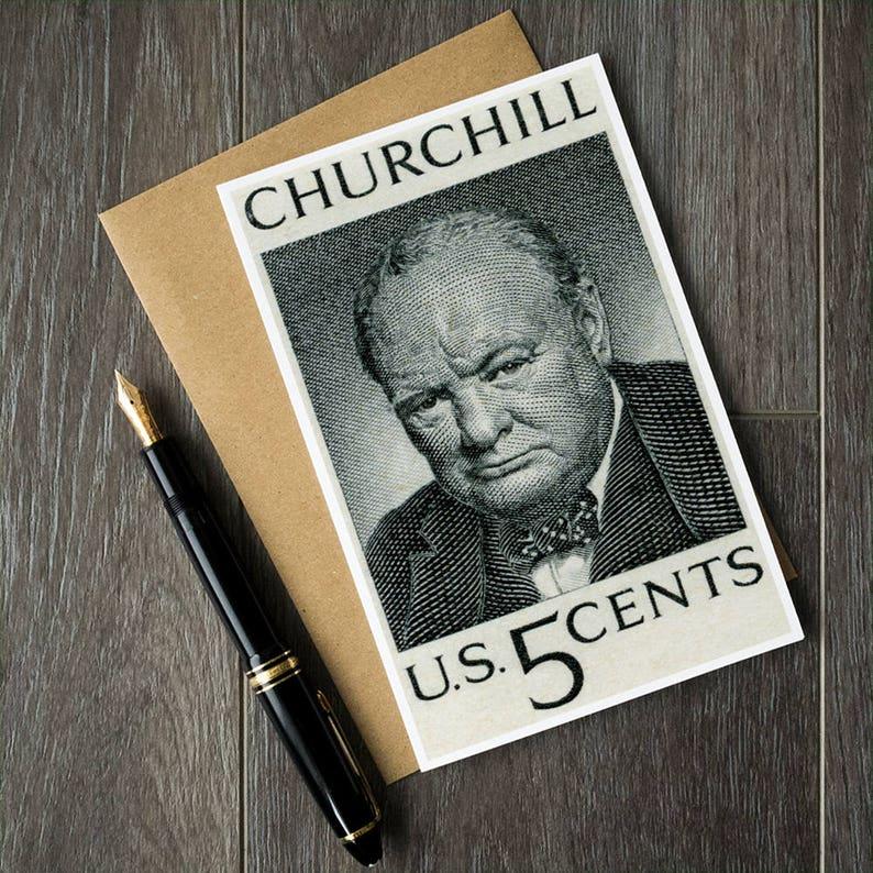 Winston Churchill Prime Minister 6 Card POSTCARD Set