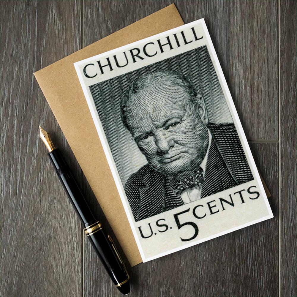 WW2-Karten Winston Churchill Weltkrieg 2 2. Weltkrieg