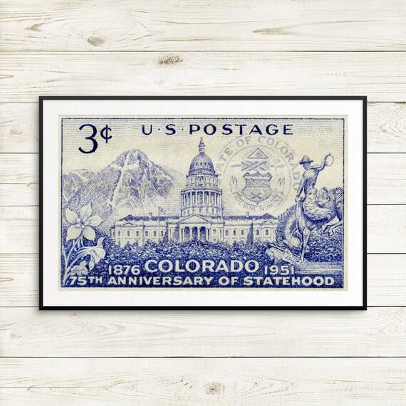 Colorado Statehood Stamp US Postage