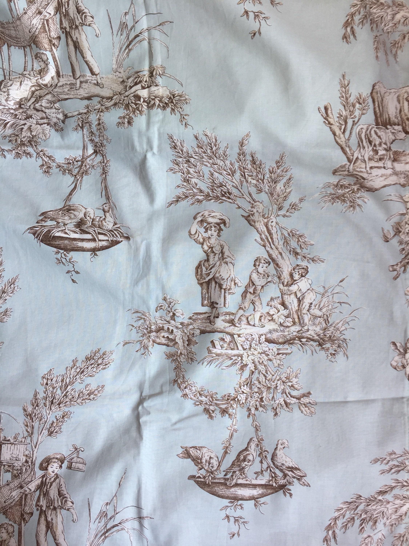 Textile de Brunschwig Brunschwig Brunschwig fils rideau 2 mètres 9af6e9