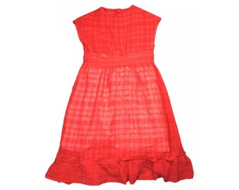 d977e3e37 Vintage Girls' Dresses | Etsy