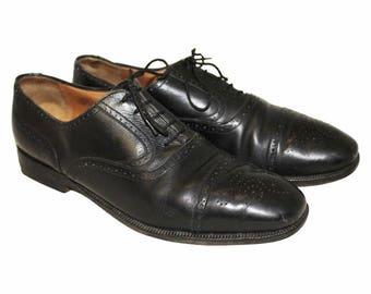 new product f377b 28599 Scarpe basse Oxford e traforate a coda di rondine da uomo ...