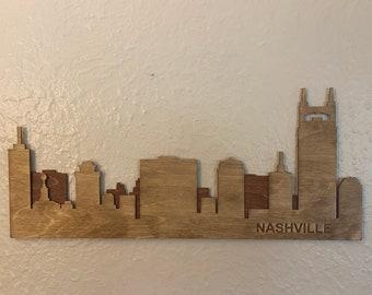 Nashville Skyline Sign