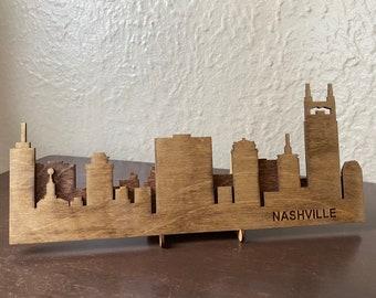 Nashville, Tennessee Skyline