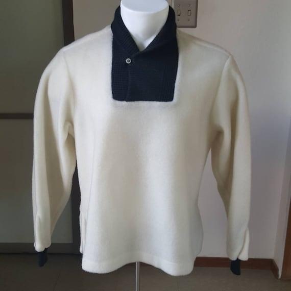 1950s Vintage McGregor Nylon Fleece Pullover Knit