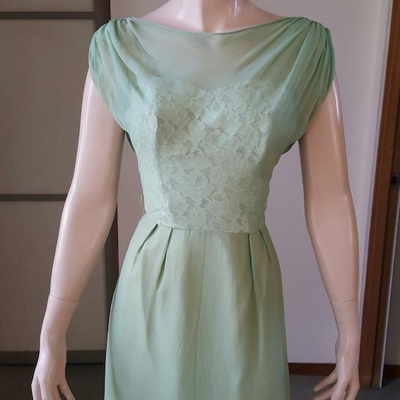 1950s Vintage Emma Domb Wiggle Dress 25W
