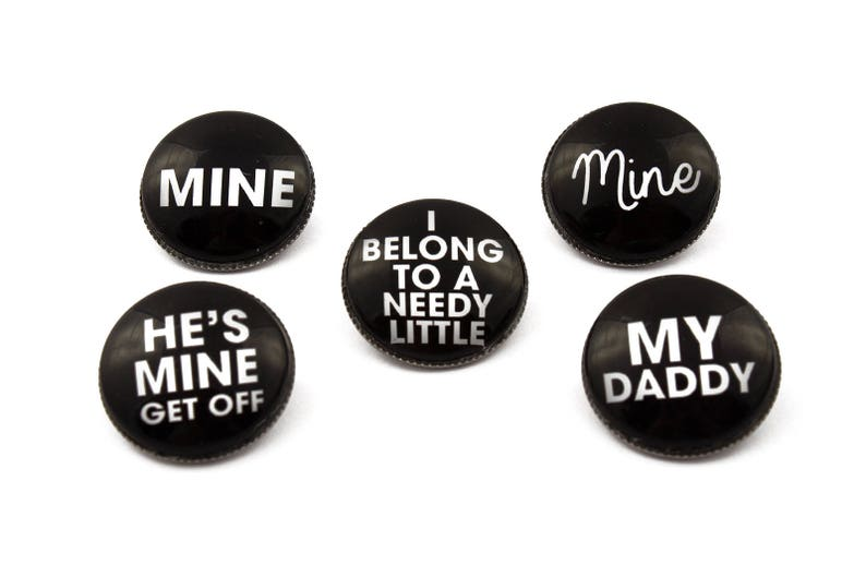 Personalised Daddy of the birthday girl unique Metal Pin Badge