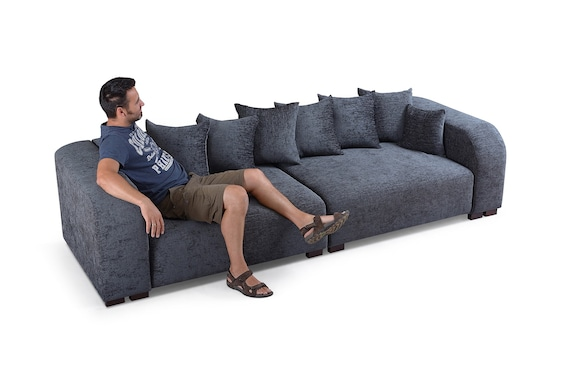 New Modern Style Large 4 seater Sofa , many colours available deep seat