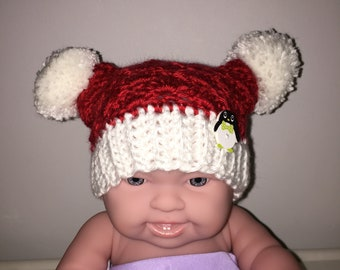 Santa Baby Hat and Mittens