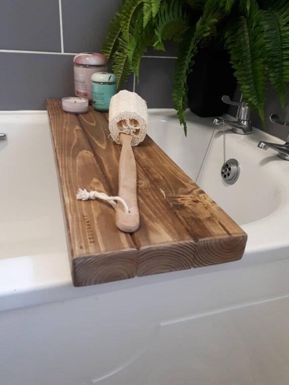 Jacobean Bath Board bath tray bath caddy bath shelf | Etsy