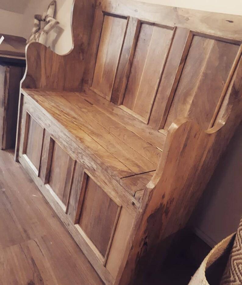 Fine Monks Bench Handmade From Mango Wood Back Order Uwap Interior Chair Design Uwaporg