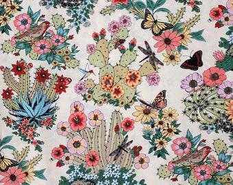 Alexander Henry Fabric - Hacienda Cactus