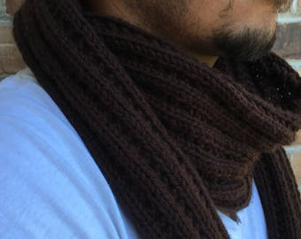 Classic Scarf, Ribbed, Solid Color Options