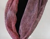 Alpaca & Silk Handwoven Valentines Heart.