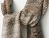 Alpaca Silk Wrap Hand Spun Handwoven