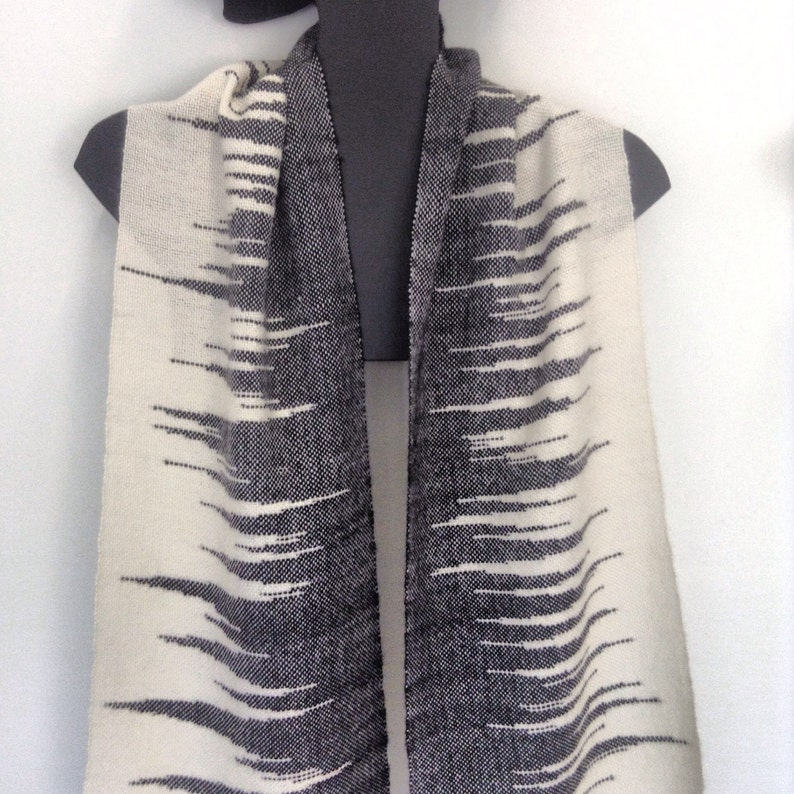 Alpaca Silk Handwoven Scarf image 0