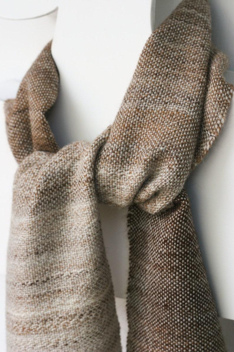 Alpaca Silk Wrap Hand Spun Handwoven image 0
