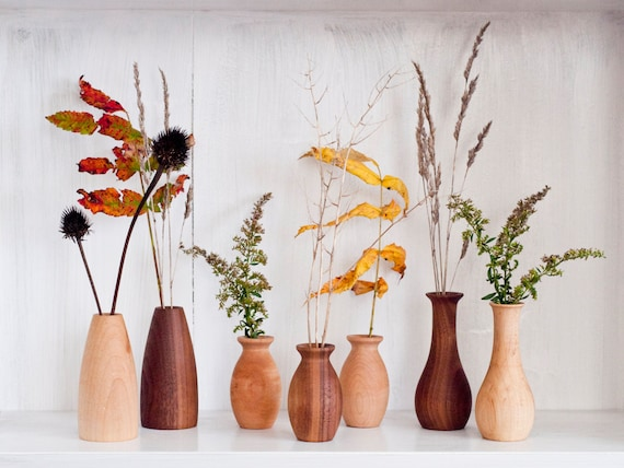 Weed Pot Stick Pot Dry Flower Vases Wood Vases Miniature Etsy