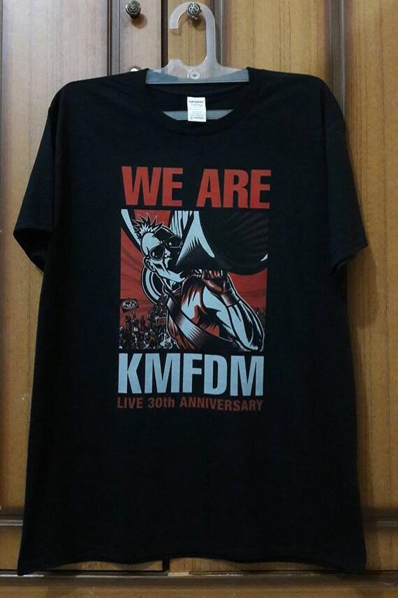 Kmfdm We Are Kmfdm Live 30th Anniversary Etsy