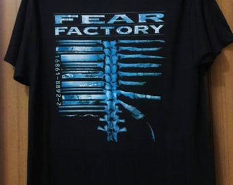 Fear Factory - Dehumanufacture & Debellufacture (Demanufacture Tour) Vintage Design