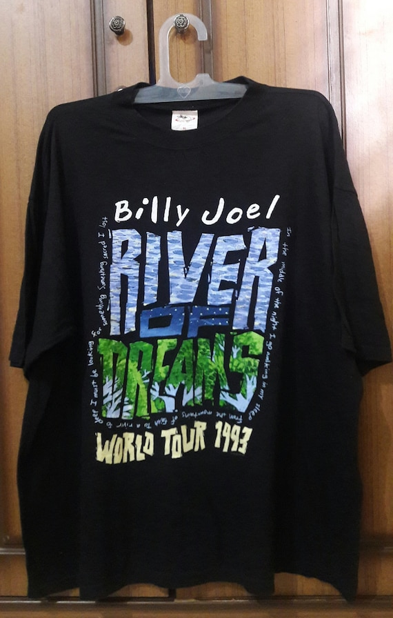 Vintage Billy Joel - The River Of Dreams World Tour 1993 VySPgVMED