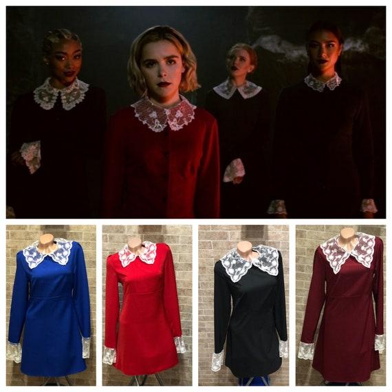 Sabrina Spellman Weird Sisters Dress 11