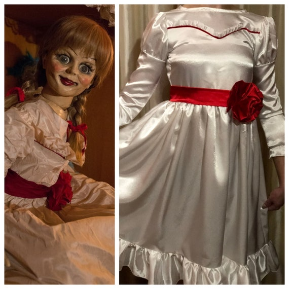 Annabelle costume Annabelle dress Cosplay costume Toddler girl  24e1b02514