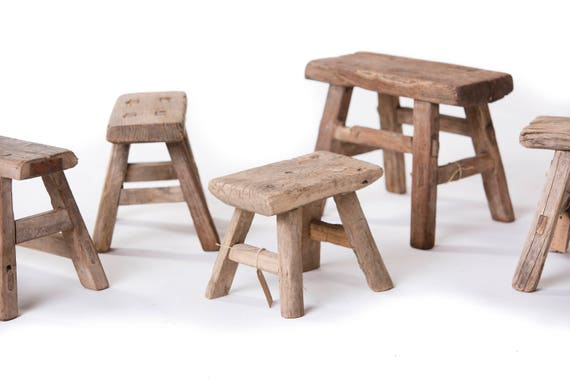 Stupendous Chinese Old Antique Mini Wooden Stool Unique Pieces Imported From China Ibusinesslaw Wood Chair Design Ideas Ibusinesslaworg