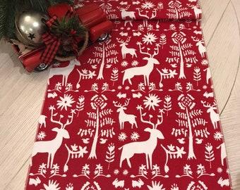 Christmas Table Runner Etsy